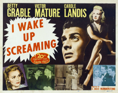 I Wake Up Screaming 1941 DVD - Betty Grable / Victor Mature